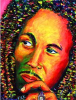 Bob Marley 12x16 / 2001