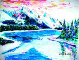 Denali, Alaska 14x11 / 2007