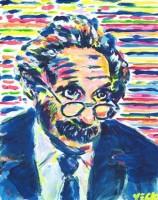 Albert Einstein 8x10 / 2001