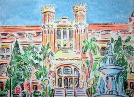 FSU Westcott Building 16x12 / 2004
