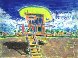 Life Guard House 16x12 / 2001