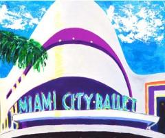 Miami City Ballet 18x14 / 2001