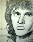 Jim Morrison 1 8.5×11 / 1983