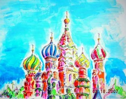 Red Square 14x11 / 2007