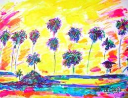 Santa Monica 14x11 / 2007