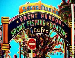 Santa Monica Sign 10x8 / 2008