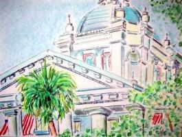 Tallahassee Capitol Bld. 16x12 / 2004