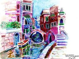 Venice Bridge 11x8.5 / 1994